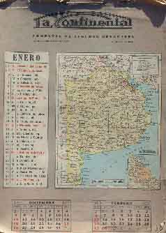 "Almanaque ""La Continental"" 1938"